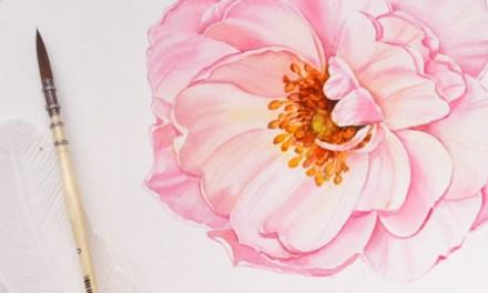 Watercolour Masterclass – Flowers