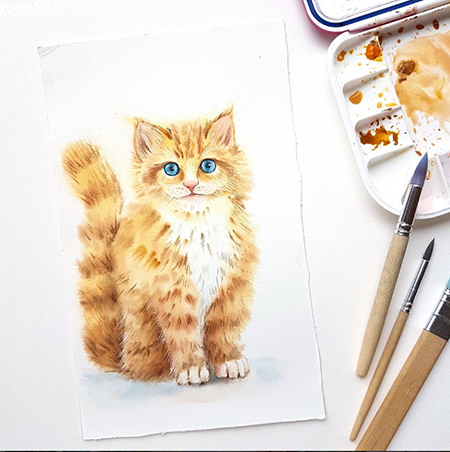Watercolour Masterclass – Animals