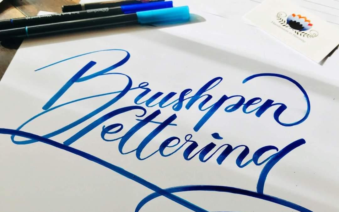 Calligraphy – Brush lettering