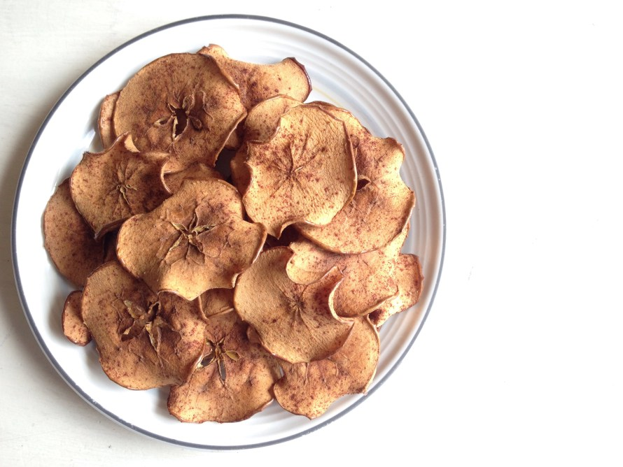 easy homemade apple chips gluten-free snack recipe