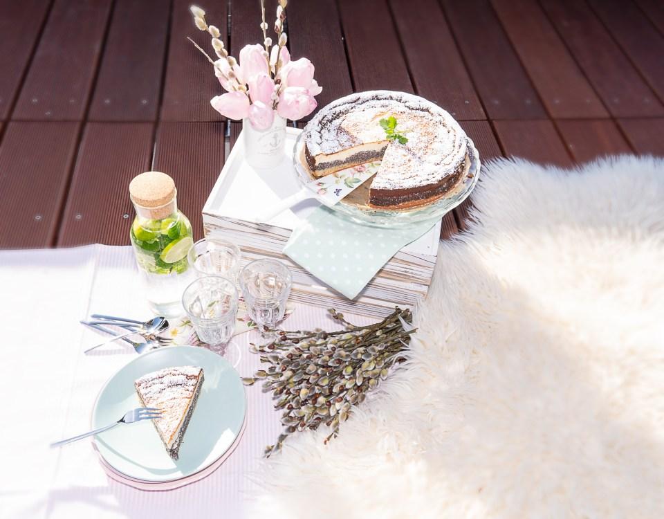 Mohn-Cheesecake Picknick