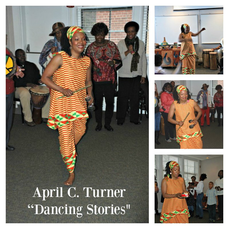 Dancing Stories by April C. Turner for Black History Month