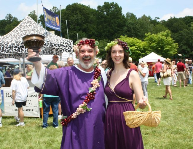 The 15th Annual Yadkin Valley Wine Festival