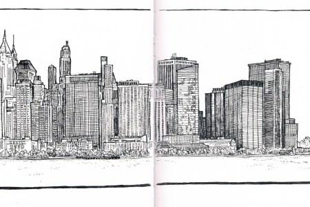 york city skyline line drawing starasbija