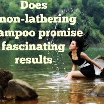 non lathering shampoo