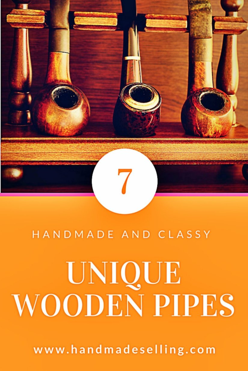 7 Unique Wooden Pipes for the First Time Experience
