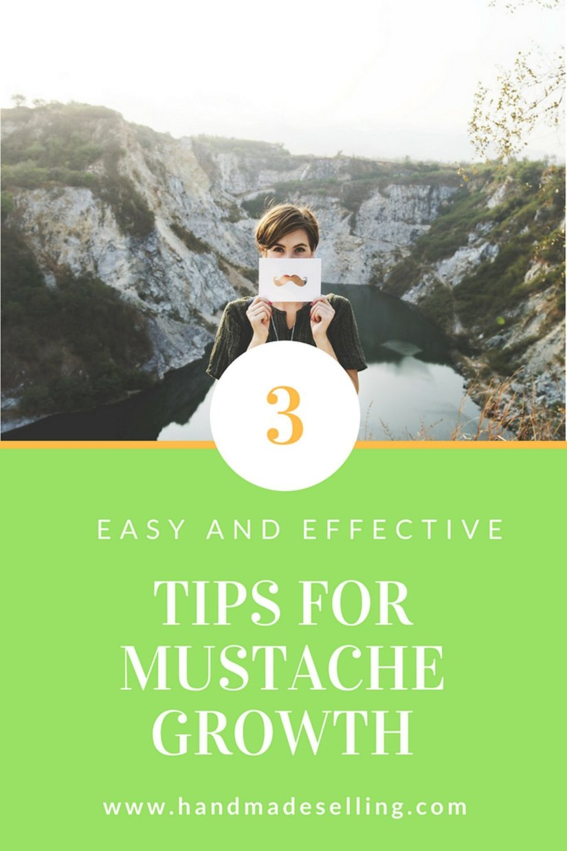 tips for mustache growth ~ handmadeselling.com