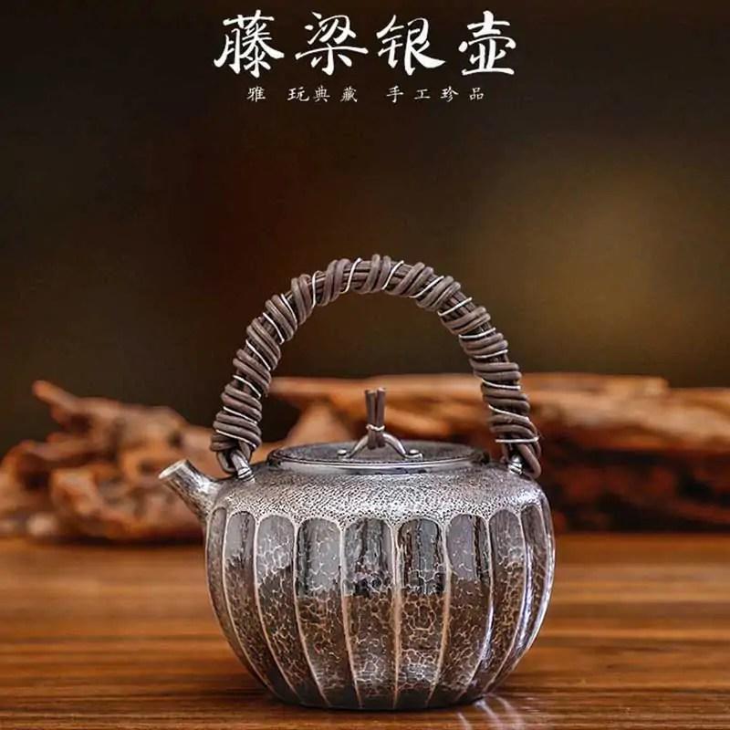 Japanese-Rattan-Design-Silver-Teapot01
