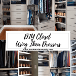 Diy Custom Closet Ikea Tarva Ivar Hack Handmade Weekly