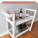 Diy Bar Cart Free Plans Handmade Weekly