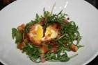 Deep fried duck egg