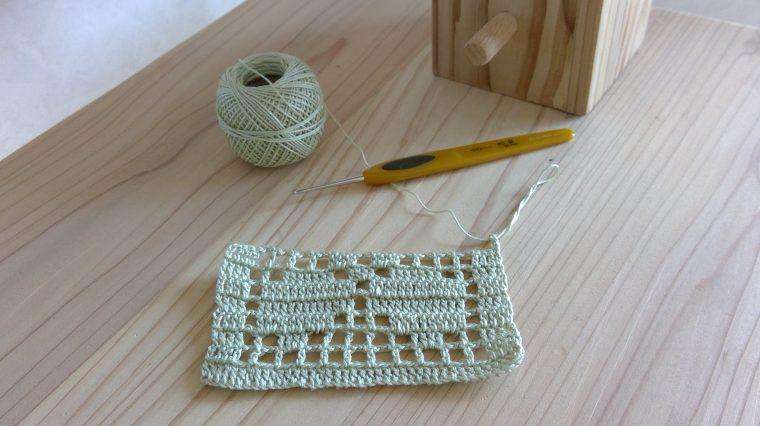 レース編みのコースターで初心者でも作れるもの