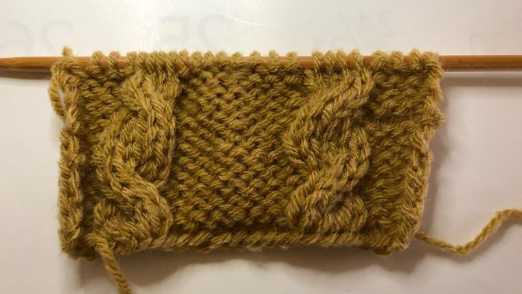 棒編み 編み方の種類 なわ編み模様