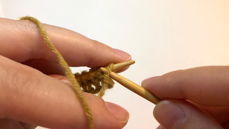 リブ編み 編み方