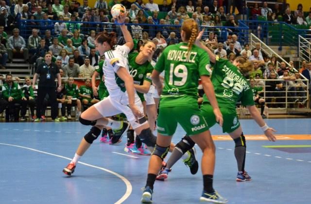 Eduarda Amorim a été la meilleure buteuse du match, avec 6 réalisations, tout comme Heidi Löke.
