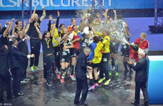 Pour sa première participation au Final4 féminin, le CSM Bucuresti a raflé le titre contre Győr à Budapest.