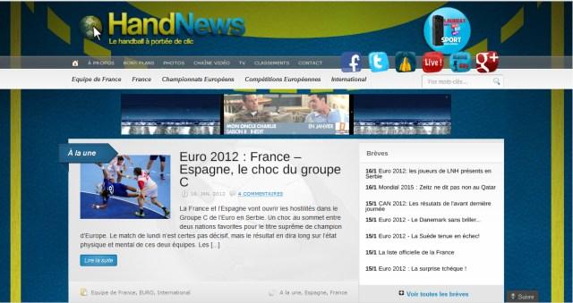 La première version de HandNews.fr