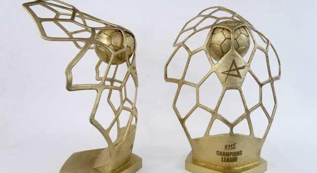 Le nouveau trophée de la Ligue des Champions