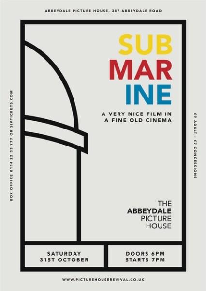 Submarine Film Poster