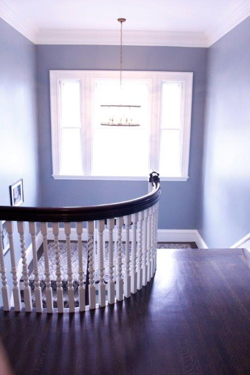 Handrahan Remodeling custom crafted spindle railing