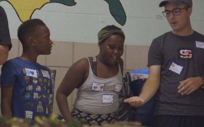Innovative program reaches children in Baltimore area [Video]