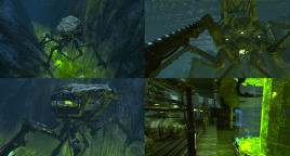 Sea Crab : team project using UDK assets