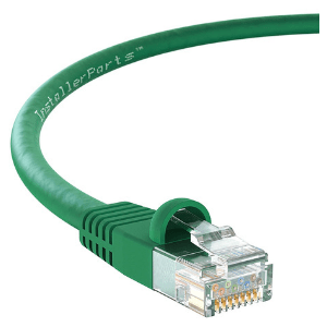 Use this green ethernet cable to mine bitcoin with our Hands Free Bit Kit