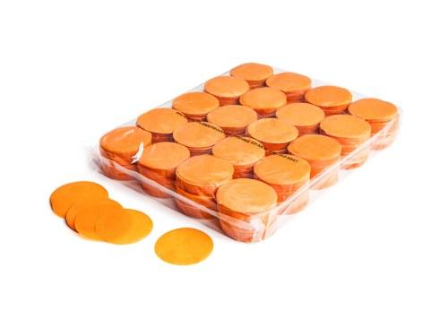 Slowfall FX Konfetti rund orange