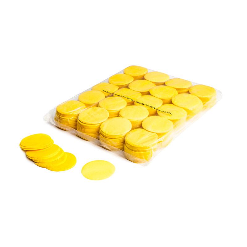Schritt 2: MINI – Slowfall FX Konfetti rund gelb
