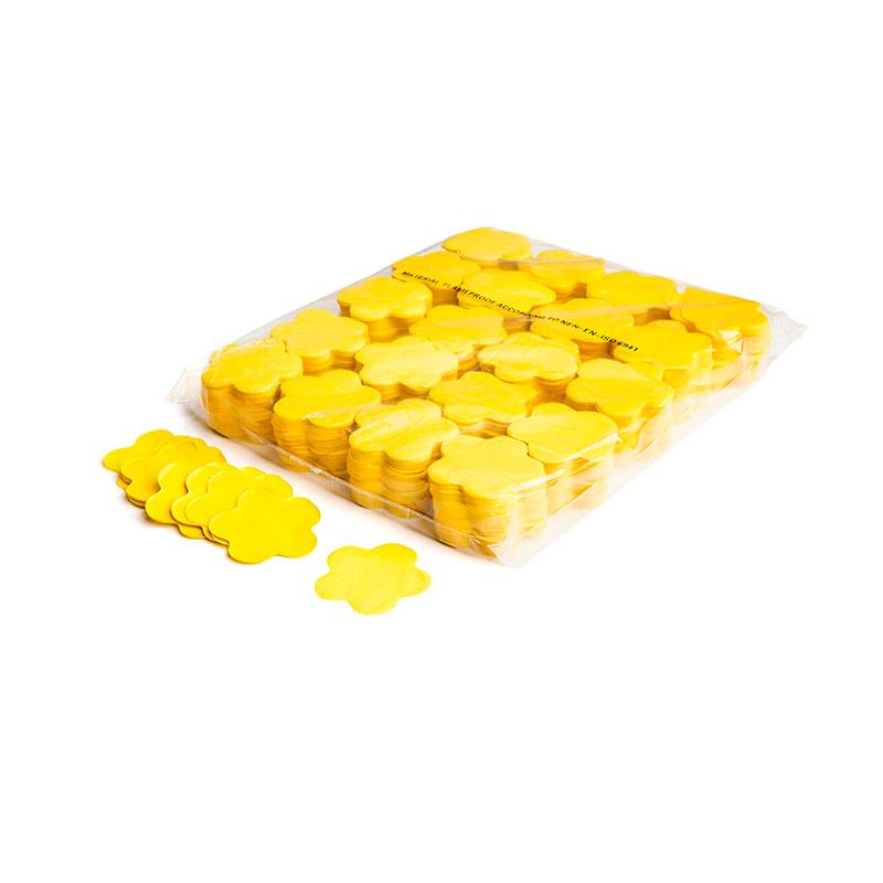 Schritt 2: GIGANT - Slowfall FX Konfetti Blume gelb