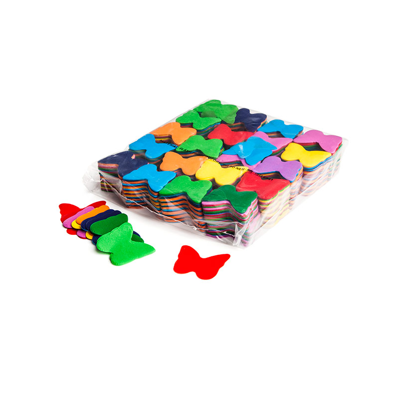 Schritt 2: GIGANT - Slowfall FX Konfetti Schmetterling bunt