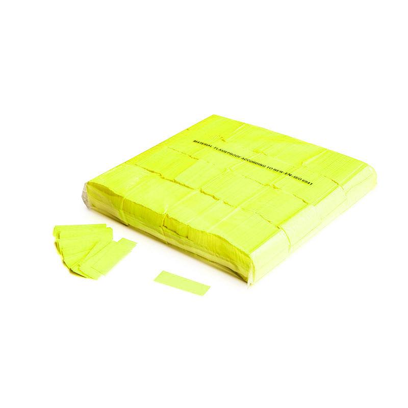 Schritt 2: GIGANT – Slowfall FX Konfetti UV Neon gelb