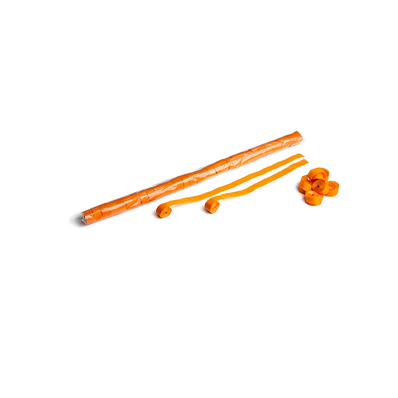 Schritt 2: GIGANT - Paper Streamer orange - 10 m x  1,5 cm - 32 Rollen