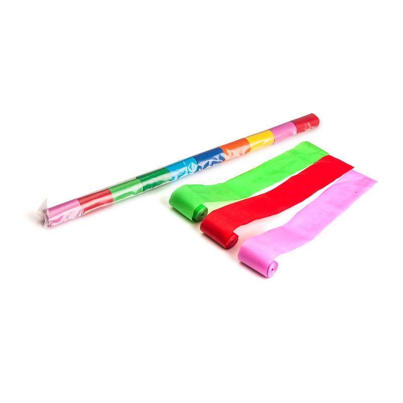 Schritt 2: GIGANT - Paper Streamer bunt - 10 m x  5 cm - 10 Rollen