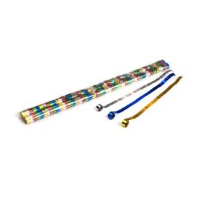 Schritt 2: GIGANT - Metallic Streamer bunt - 5 m x  0,85 cm - 100 Rollen