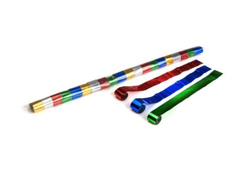 Schritt 2: GIGANT - Metallic Streamer bunt - 10 m x  2,5 cm - 32 Rollen
