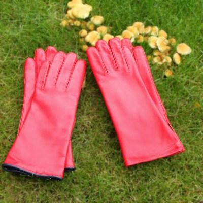 Røde handsker
