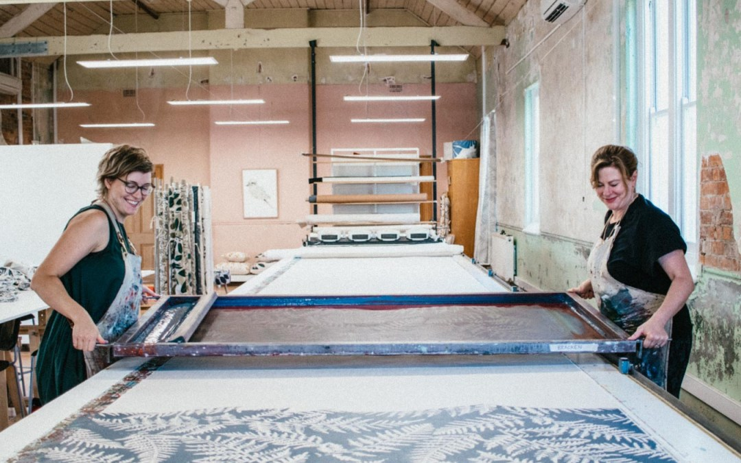 The Maker's Series | A Visit to Ink & Spindle's Beautiful Studio