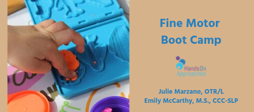 hoa fine motor boot camp
