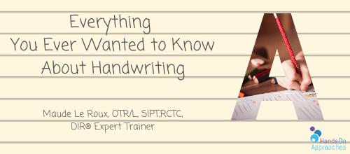 hoa everything handwriting