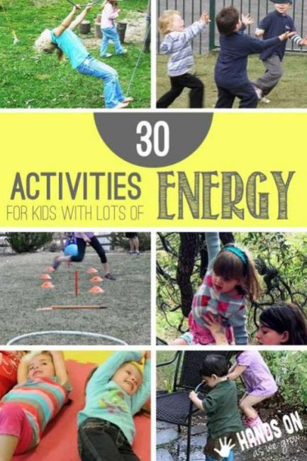 30 Gross Motor Activities for Kids with Lots of Energy to ...