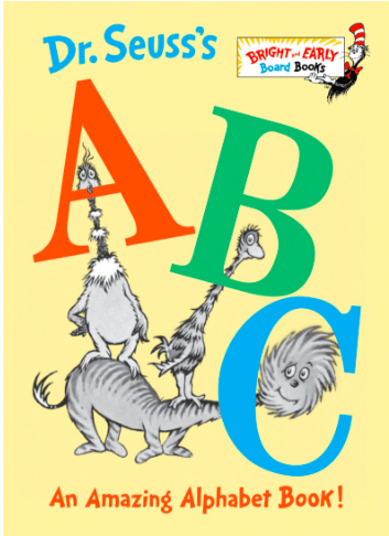Dig into this classic alphabet book by Dr. Seuss with your child. It's perfect for babies, toddlers, and preschoolers.