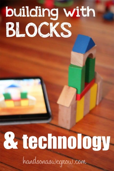 Building with blocks and technology