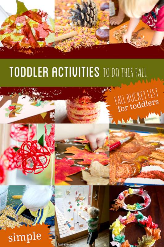 The 22 Simplest Fall Activities For Toddlers Bucket List