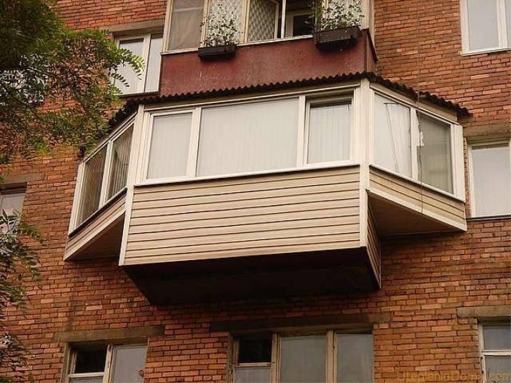 фото балкон в виде консольных плит бал, как говорится