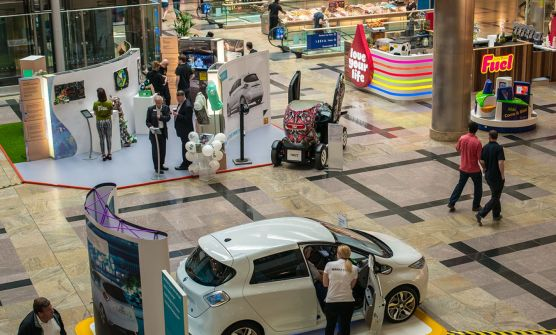 Hammerson Big Positive Weekend stands