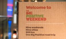Big Positive Weekend Hammerson artwork