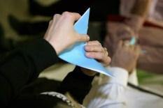 Origami challenge Sompo Canopius brand launch