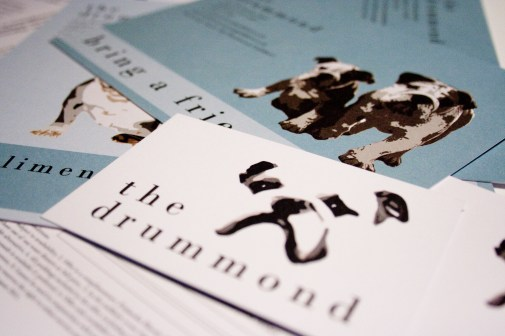 Artwork samples for The Drummond pub