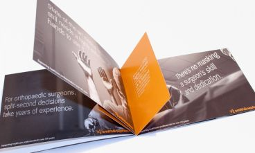 Smith & Nephew advertising brochure artwork